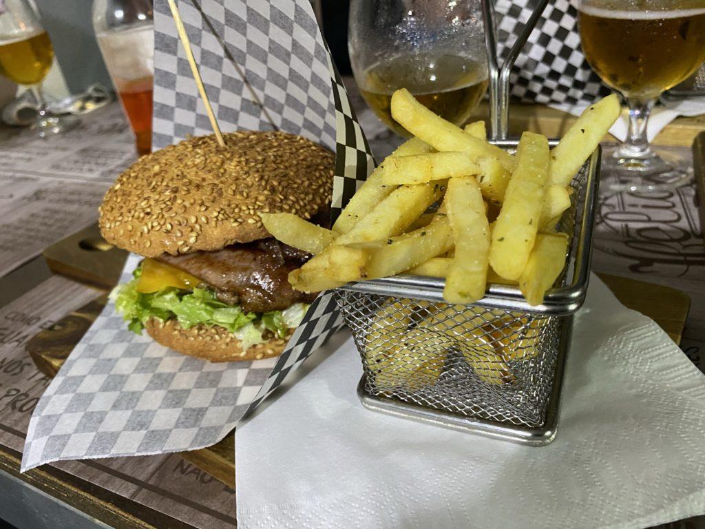 Rindfleisch-Burger